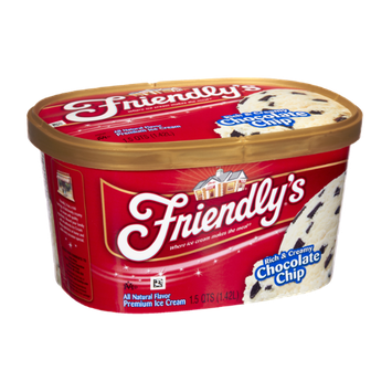 Friendly's Rich & Creamy Chocolate Chip Premium Ice Cream