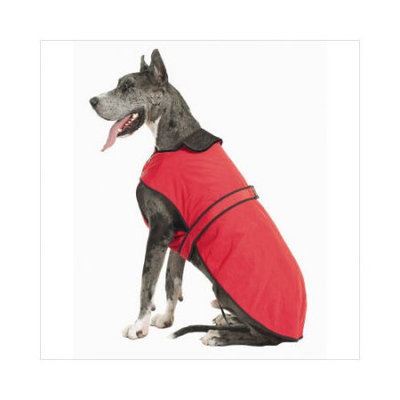Muttluks BL38R 3-Layer Belted Winter Dog Coat - Size 38 Red