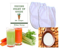 Rawnori Banana Slicer 2 Fine Mesh Nut Milk Jelly Strainer Bags 1 gal XL Extra Large Juicing And Sprouting EBook Quot Juicing Start Up Guide Quot HHK0KYZID-2519