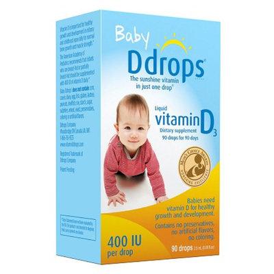 Ddrops Baby Vitamin D3 400IU