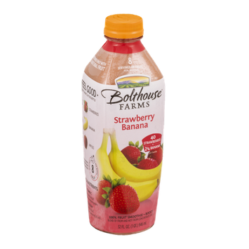 Bolthouse Farms 100% Fruit Smoothie + Boosts Strawberry Banana