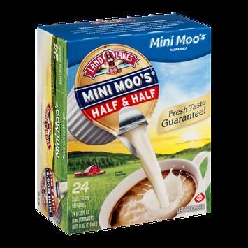 Land O'Lakes Mini Moo's Half & Half Singles - 24 CT