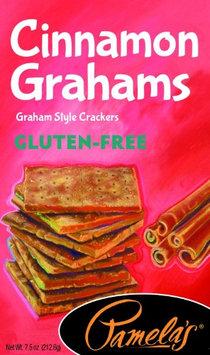 Pamela's Products GRAHAMS, CINNAMON, GF, (Pack of 6)