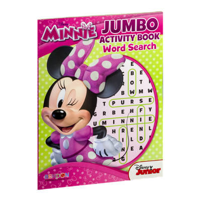 Bendon Disney Minnie Jumbo Activity Book Word Search