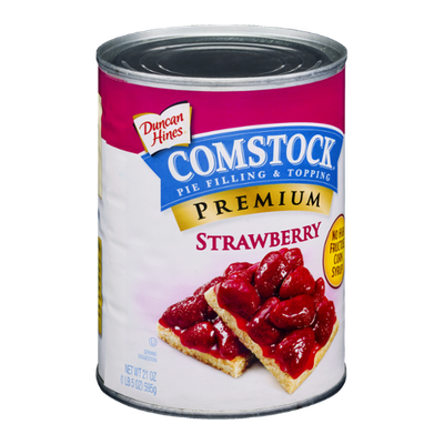Duncan Hines Comstock Strawberry Pie Filling & Topping