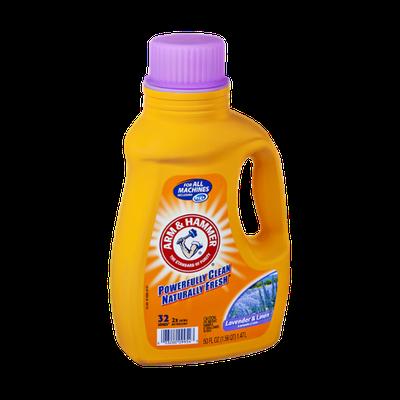 Arm Hammer Lavender Linen Liquid Laundry Detergent