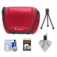 Vanguard Nivelo 18 Mirrorless Interchangeable Lens Digital Camera Case (Red) with Accessory Kit
