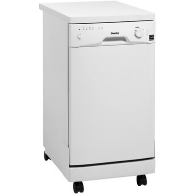 Danby 8-Place Setting Portable Dishwasher, White