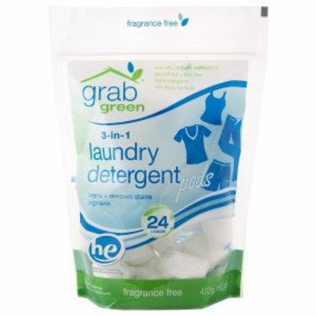 GrabGreen 3-n-1 Laundry Detergent Pouch