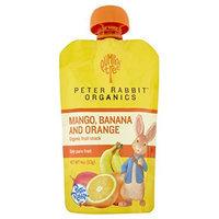 Peter Rabbit Organics Mango, Banana and Orange Snacks, 4-Ounce (Pack of 10)