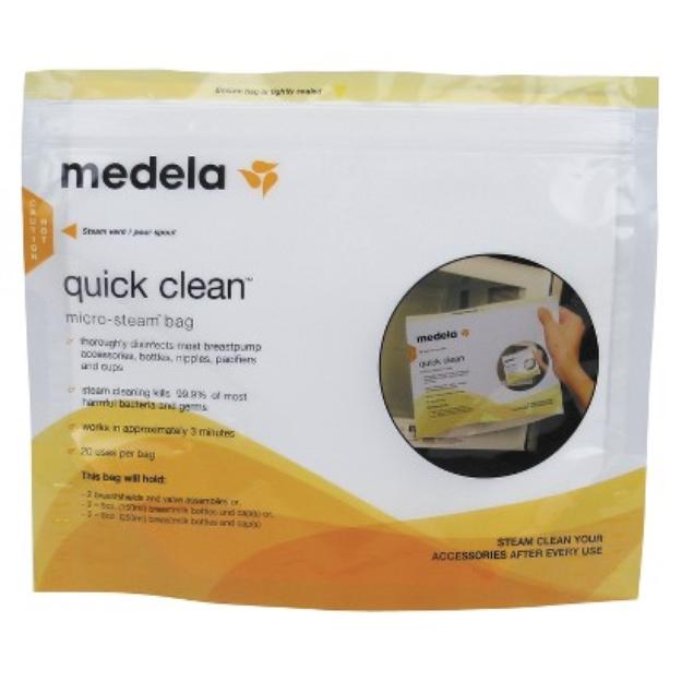 Medela 5ct Quick Clean Micro-Steam Sterilizing Bags