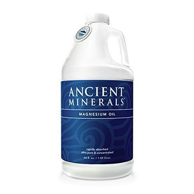 Ancient Minerals Ultra Pure Magnesium Oil 64oz.