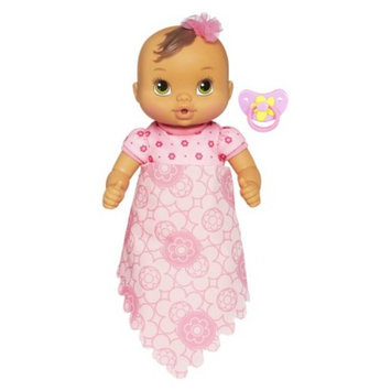 Baby Alive Luv 'n Snuggle Baby Doll Brunette with Blanket