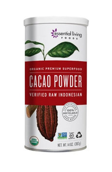 Essential Living Foods - Organic Cacao Powder - 14 oz.