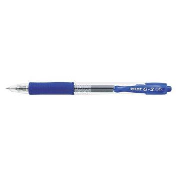 Pilot G-2 Gel Ink Pen, 0.5mm Extra Fine - Blue Ink (12 Per Pack)