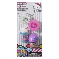 Hello Kitty 3 Pack Dessert Lip Balm Set