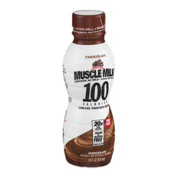 Muscle Milk 100 Calories Low-Fat Protein Shake Chocolate