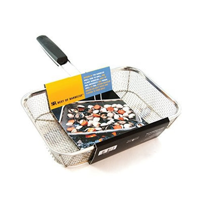 Steven Raichlenâ S Best Of Barbecue Charcoal Companion® Stainless Wire Mesh Grilling Basket