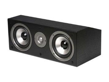 Polk Audio CS1 Series II Center Channel Speaker (Black) Each