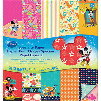 EK Success Disney Double Sided Mickey Family Paper Pad