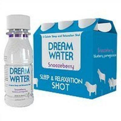 Dream Water Lullaby Lemon Sleep Shot 2.5 Ounce 6 Pack
