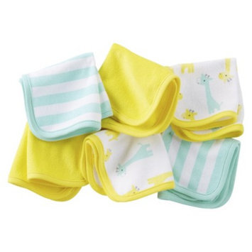 Just One You Made by Carter's Just One YouMade by Carter's Newborn 6 Pack Giraffe Washcloth Set -