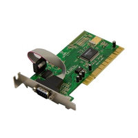 Syba Low Profile PCI Single DB9 Serial Card Moschip MCS9820 up to 1 Mbytes/sec