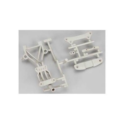 HPI 104666 High Performace Rear Brace Set White