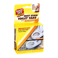 Goof Off Rust Stain Toilet Tabs - 2 CT