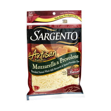 Sargento Artisan Blends Mozzarella & Provolone Shredded Cheese