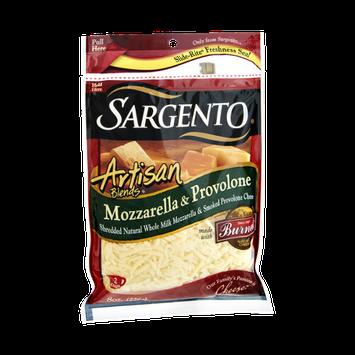 Sargento® Artisan Blends® Mozzarella & Provolone Shredded Cheese