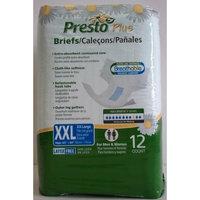 Presto Briefs, Clothlike, Breathable, 2X-Large, 4/12's