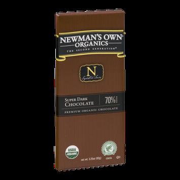 Newman's Own Organics The Second Generation Super Dark Chocolate