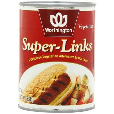 Worthington Super Links, 19-Ounce Cans (Pack of 12)