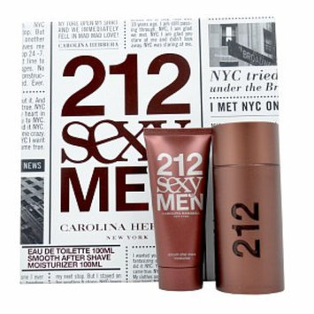 Carolina Herrera 212 Sexy Gift Set for Men, 1 set