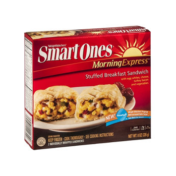 Weight Watchers Smart Ones MorningExpress Stuffed Breakfast Sandwich - 2 CT