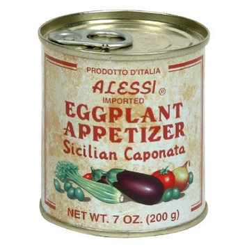 Alessi, Eggplant Appetizer, 7-Ounce (12 Pack)