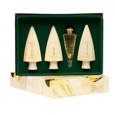 Jivago 24K By Ilana Jivago For Women. Gift Set ( Eau De Toilette Spray 2.5 Oz+ Body Cream 6.8 Oz + Body Lotion 6.8 Oz+ Shower Gel 6.8 Oz).