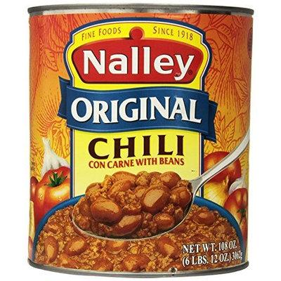 Nalley Chili, Original, 106 Ounce