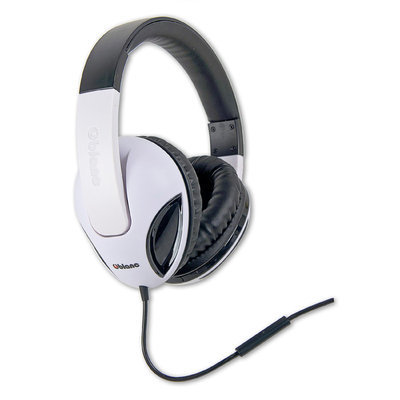 Syba SYBA Multimedia Oblanc Cobra White Stereo Headphone W/In-line Microphone