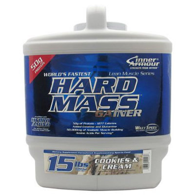 Inner Armour - Hard Mass Gainer Cookies and Cream - 15 lbs.