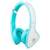 Monster Cable Monster DNA On-Ear Headphones - White/Teal (MHDNAONWHTCAWW)