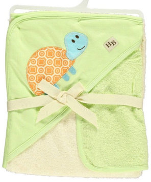 Hudson Baby Turtle Hooded Towel & Washcloth Set