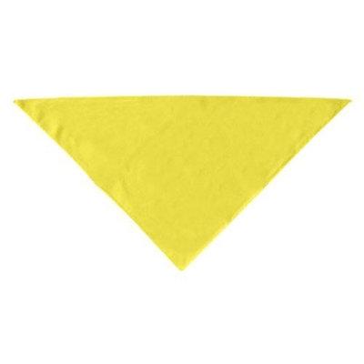 Mirage Dog Supplies Plain Bandana Yellow Large