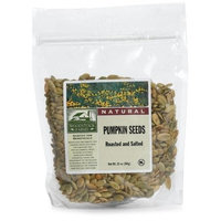 Natural Sea Woodstock Farms All Natural Roasted and Salted Pumpkin Seed, 9.5 Ounce -- 8 per case.