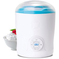 Dash Green Yogurt Maker - White/Pink