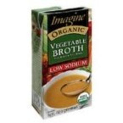 Imagine Foods Imagine Organic Vegetable Broth, 16 Ounce (Pack of 12)