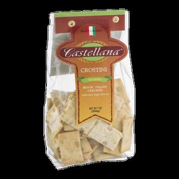 Castellana Crostini Rustic Italian Crackers Sesame