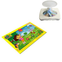 Neat Solutions Stick-on Place Mats (50pk)- Dora the Explorer