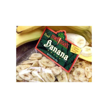 Melissa's Dried Banana Chips, 3 packages (3 oz)